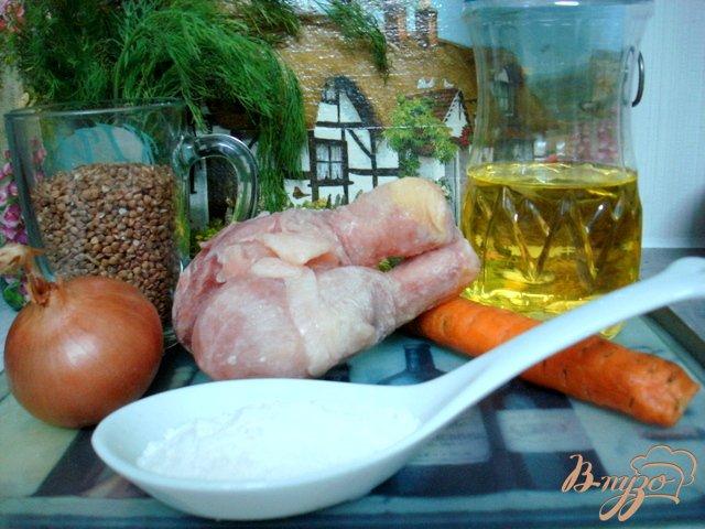 Фото приготовление рецепта: Суп гречневый по-польски шаг №1