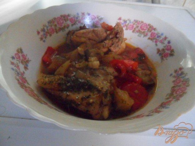 Рецепт Яхния с курицей