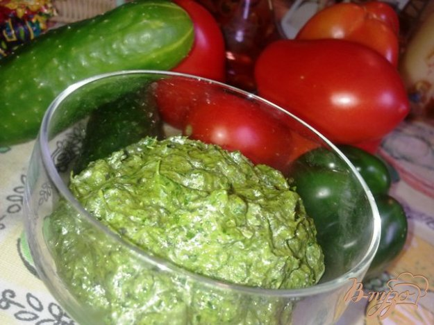 Рецепт Соус Песто с рукколой