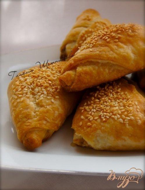 Фото приготовление рецепта: Пирожки с грибами шаг №9