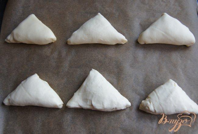 Фото приготовление рецепта: Пирожки с грибами шаг №7