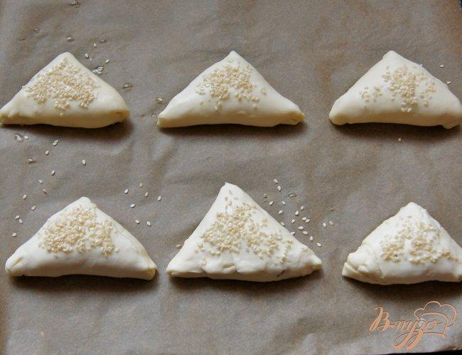 Фото приготовление рецепта: Пирожки с грибами шаг №8