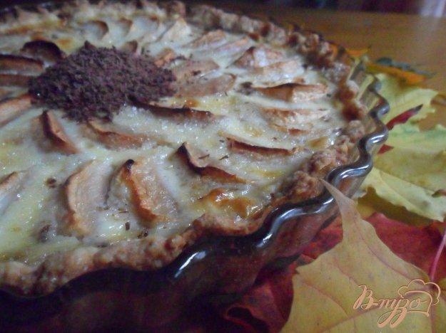 Яблучний тарт з шоколадом. Як приготувати з фото