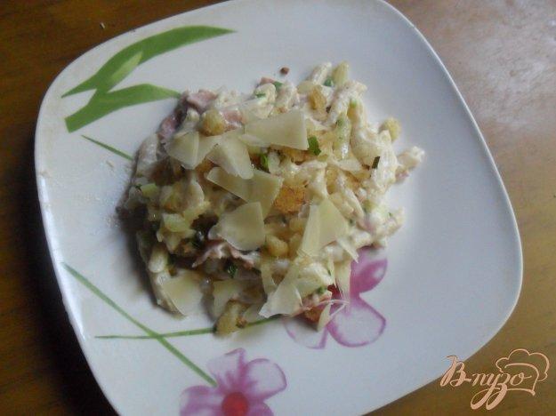 Рецепт Паста с ветчиной и сыром