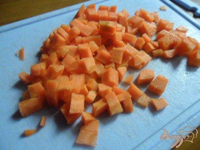 Фото приготовление рецепта: Овощной суп с фрикаделькаим шаг №2