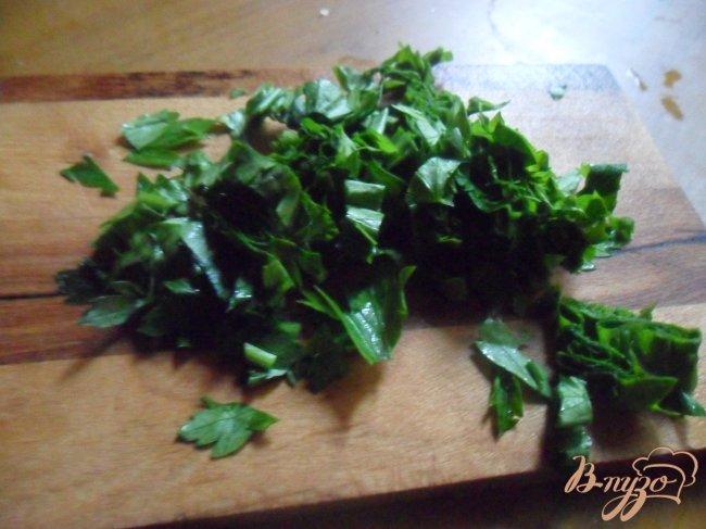 Фото приготовление рецепта: Овощной суп с фрикаделькаим шаг №10