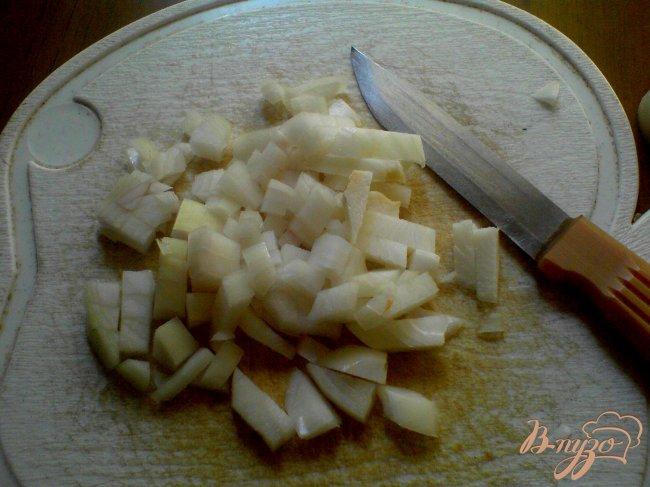 Фото приготовление рецепта: Пикантное рагу с огурцами шаг №3