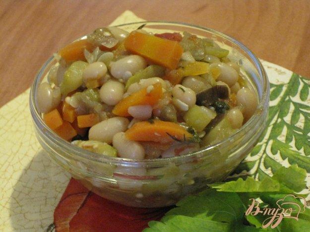 Рецепт Овощное рагу с фасолью.