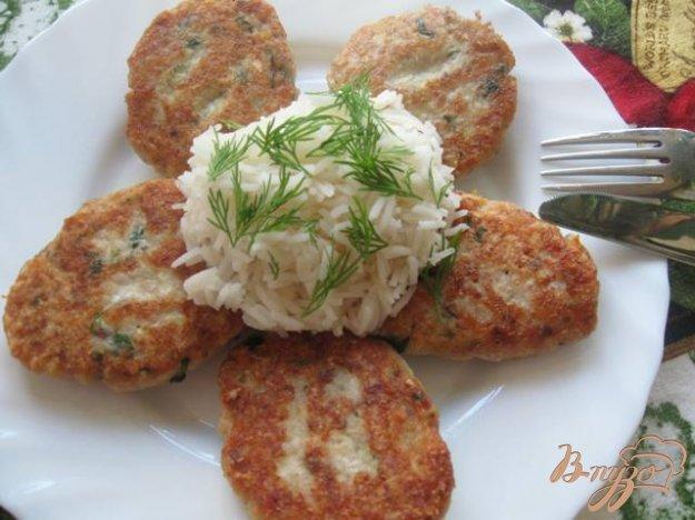 """Рецепт Котлеты рыбные с отварным яйцом и сыром """"Амур"""""""
