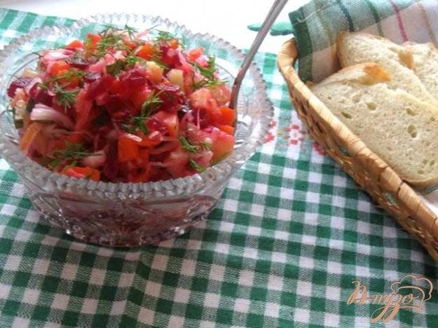 Кулинарные рецепты винегрет пошаговый рецепт