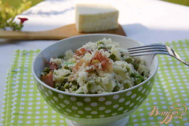 фото рецепта: Risi e bisi - классика итальянской кухни