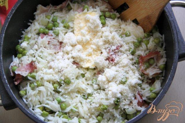 Фото приготовление рецепта: Risi e bisi - классика итальянской кухни шаг №4