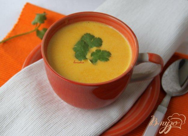 Рецепт Японский морковный суп-пюре