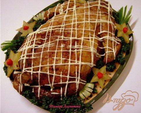 фото рецепта: Курица фаршированная целиком.