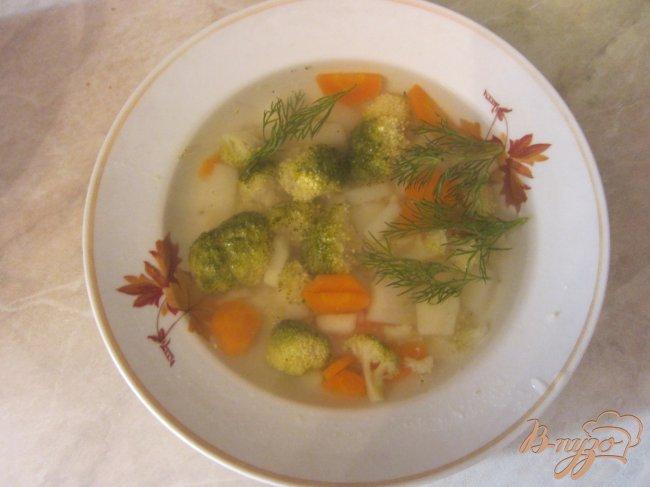 Фото приготовление рецепта: Cупчик с брокколи шаг №4