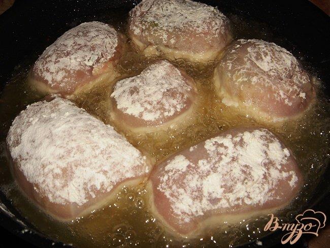 Фото приготовление рецепта: Зразы куриные шаг №5