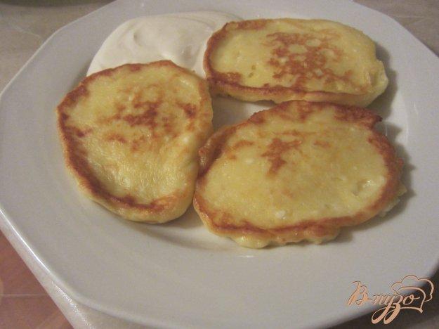 Рецепт Творожно-картофельные оладушки
