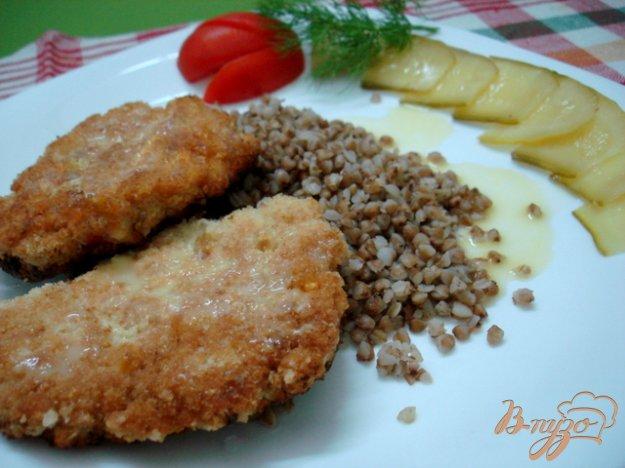 Рецепт Шницеля куриные рубленые