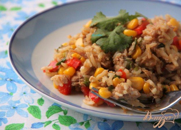 Рецепт Рис с тунцом по-тайски