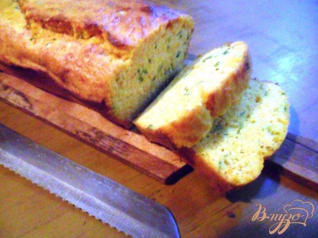 Рецепт Тыквенный хлеб с зелёным луком и сыром
