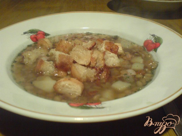 Рецепт Суп с чечевицей и беконом