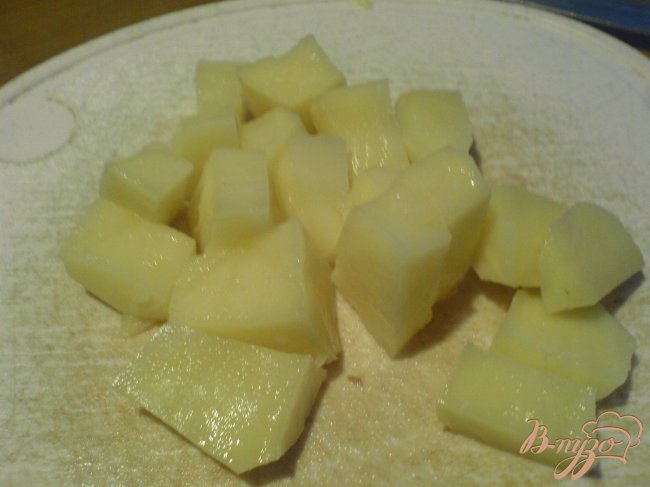 Фото приготовление рецепта: Суп с чечевицей и беконом шаг №2