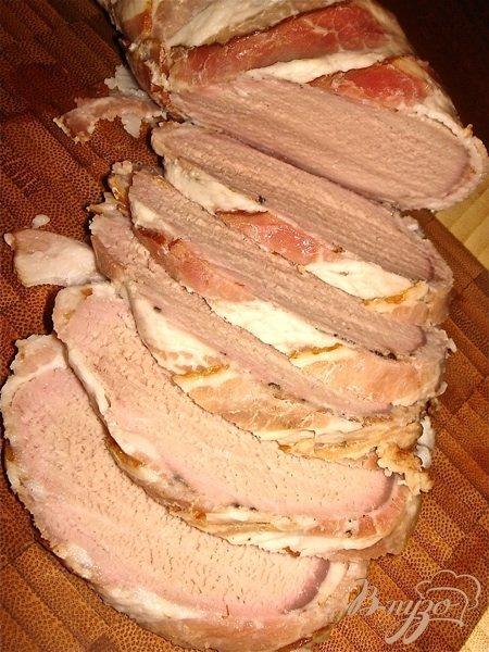 Рецепт Свиная вырезка в беконе