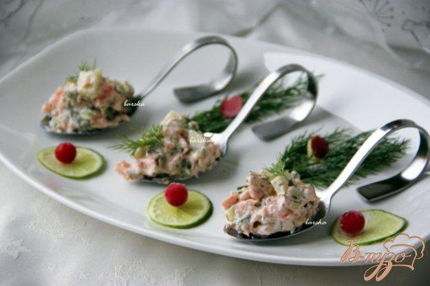 фото рецепта: Рийет из лосося  Rillettes de saumon