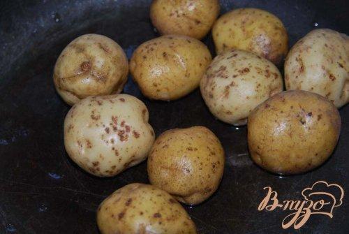 """Печeный """"как на костре"""" картофель"""