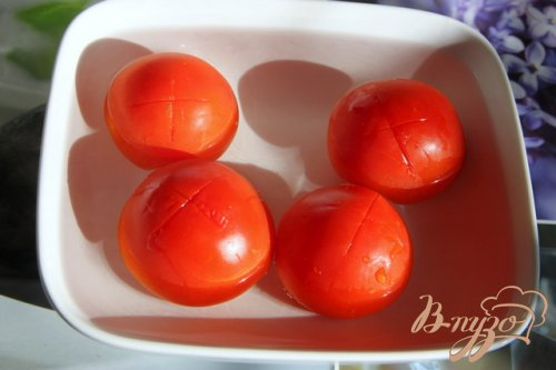 Баклажаны под томатным соусом  с корицей
