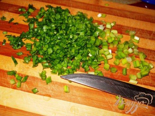 Салат из пекинской капусты с зеленой фасолью и кукурузой
