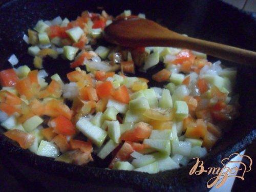 Фузилли с овощным соусом