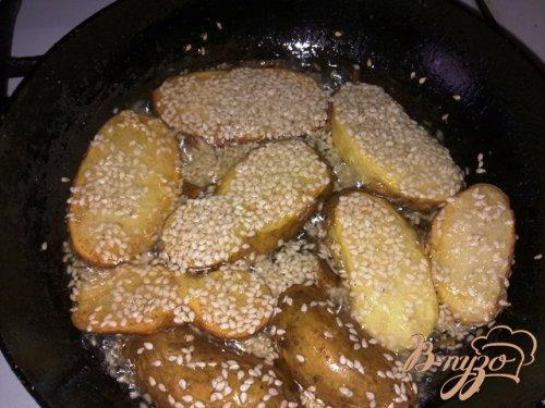 Картошечка с сезамом
