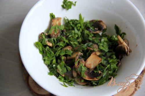 Картофельные котлеты с копчёной скумбрией и грибами