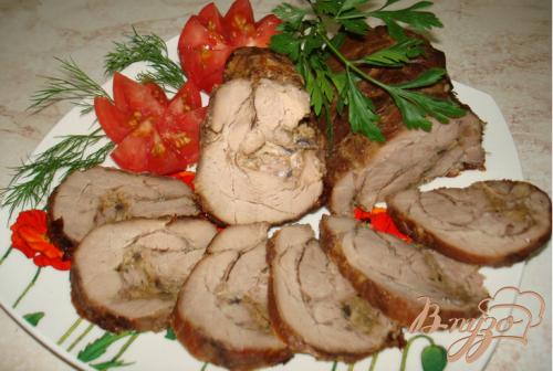 Мясо в жировой сетке