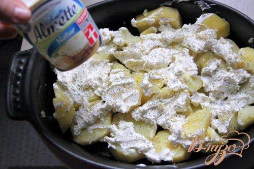 Картофельно-сырный гарнир