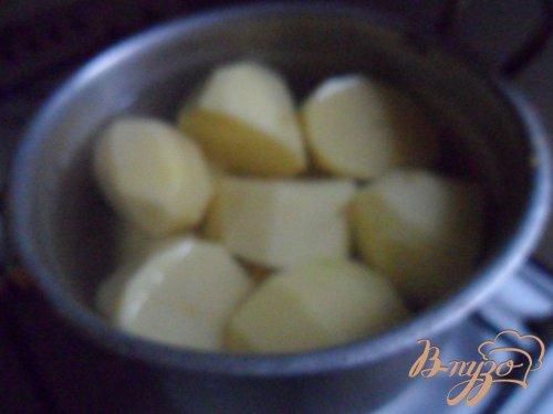 Картофельный кордон - блю