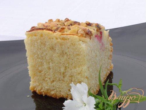 """Газированный"""" фруктовый пирог"""