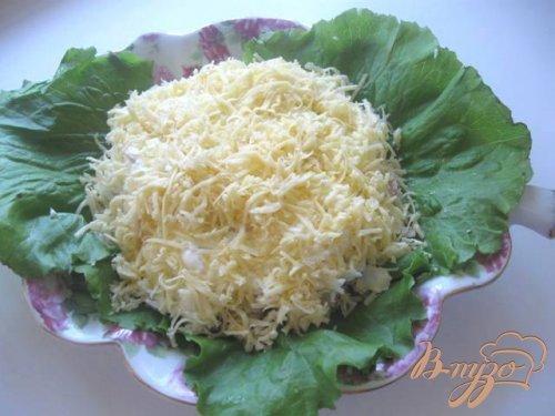 Салат из индейки с ананасами