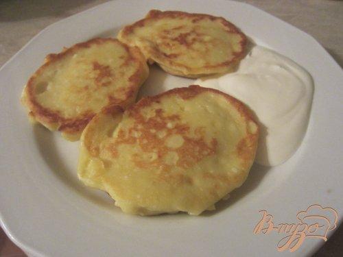 Творожно-картофельные оладушки