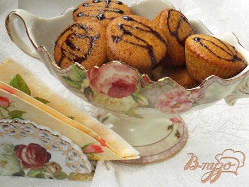 Кексы с тыквой и корицей