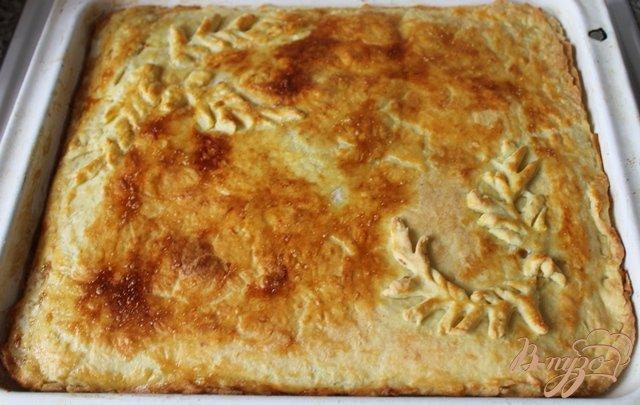 Фото приготовление рецепта: Луковый пирог