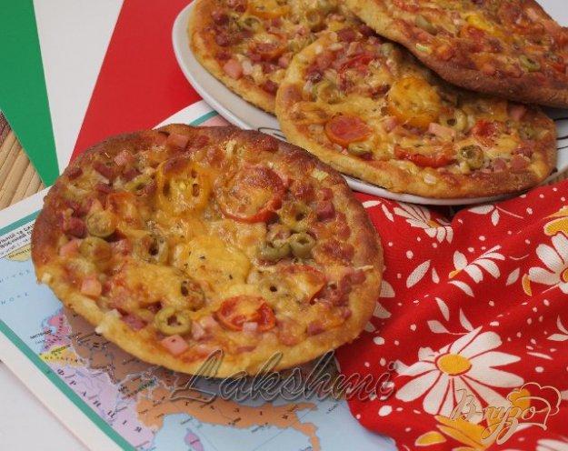 Рецепт Творожные мини-пиццы