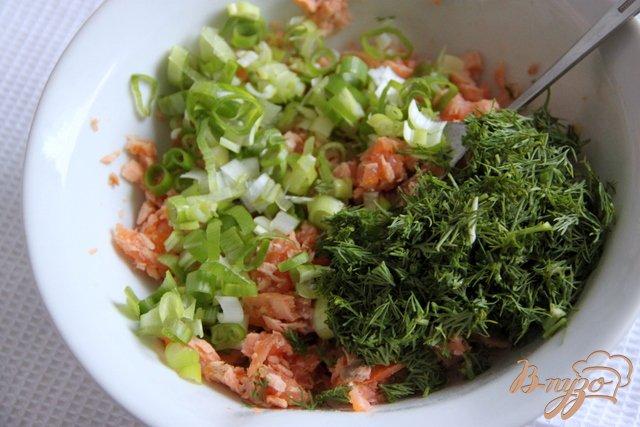 Фото приготовление рецепта: Рийет из лосося  Rillettes de saumon шаг №3