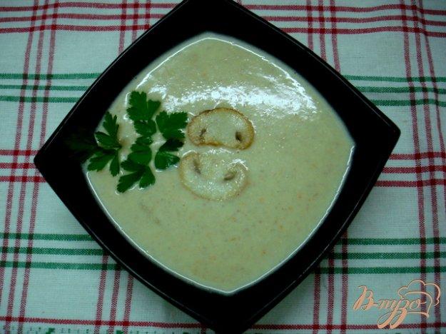 фото рецепта: Грибной суп пюре