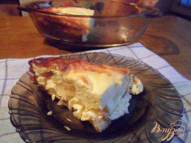 фото рецепта: Творожная запеканка с яблоками