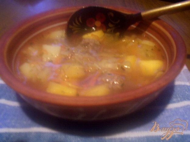 фото рецепта: Крестьянский суп с фрикадельками