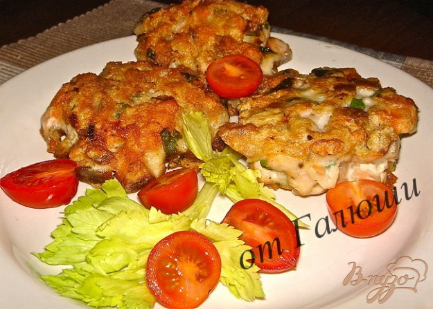 Рецепт Рыбные котлеты из горбуши