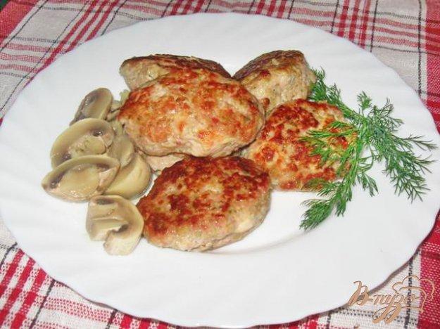 Рецепт Котлеты с брокколи, сыром и кусочками филе