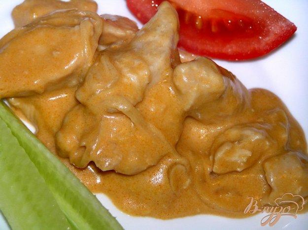 фото рецепта: Куриные грудки в чесночно-горчичном соусе